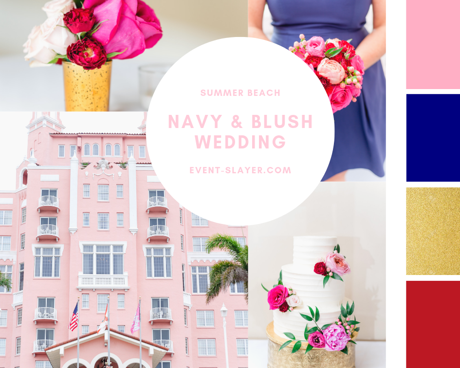 Navy And Blush Wedding.Navy And Blush Wedding Eventslayer